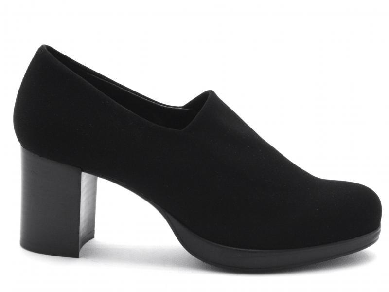 IBND99001 NERO Scarpa donna Cinzia Soft tronchetto tacco plateau filoforma  nero
