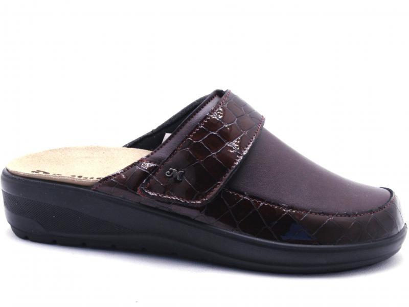 Q61051 COCCO Scarpa donna Melluso ciabatta pantofola pelle plantare estraibile made in Italy