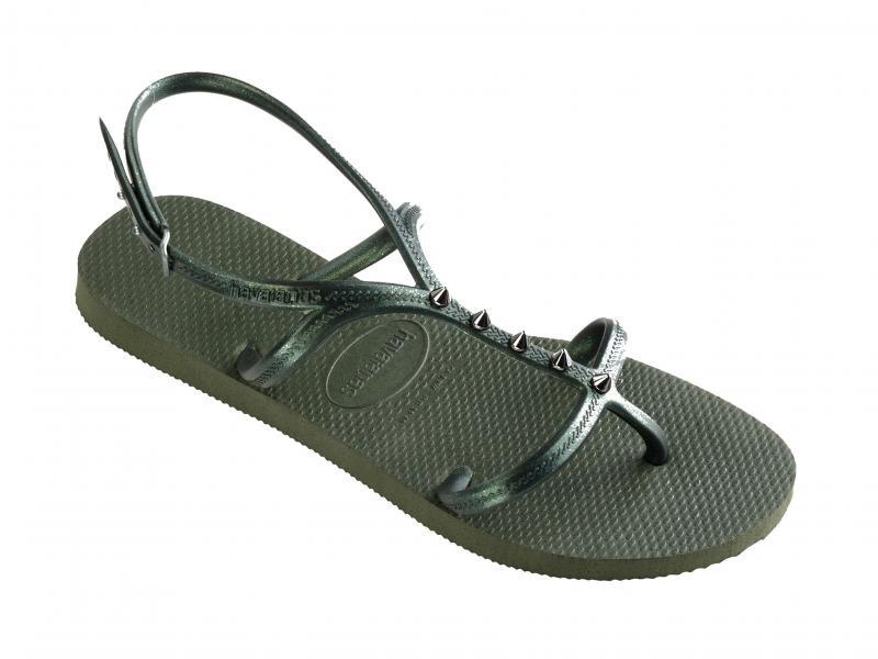 ALLURE MAXI VERDE Scarpa donna Havaianas sandalo infradito borchie