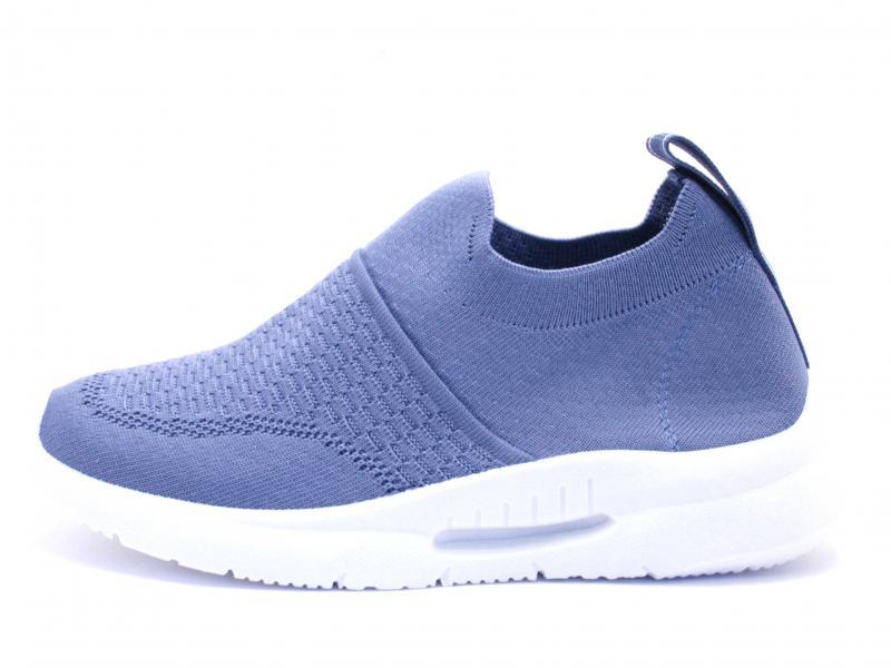 49098 JEANS Scarpa donna sneaker Xti slip-on plantare memory foam