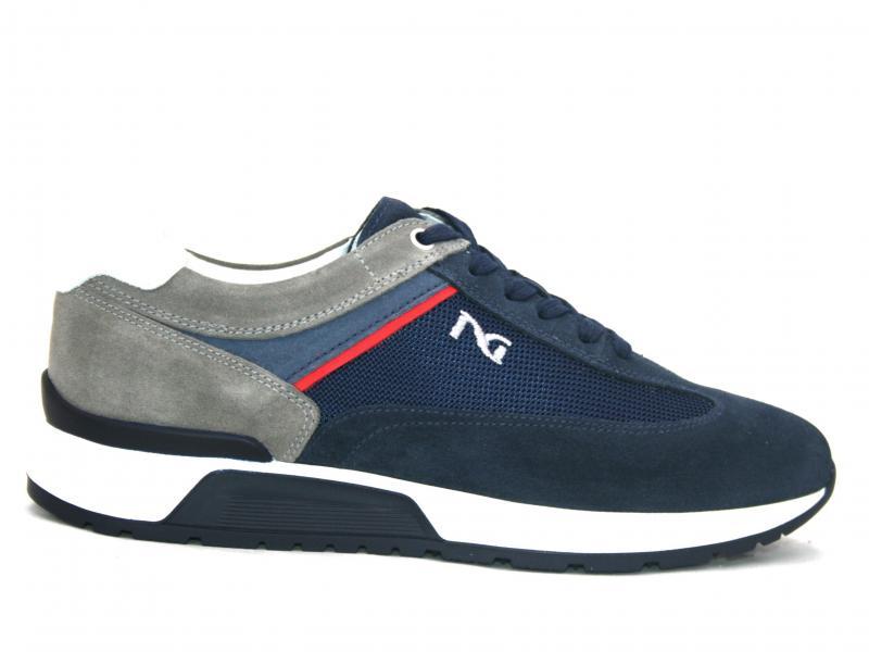 00821 INCANTO Scarpa uomo Nero Giardini sneakers