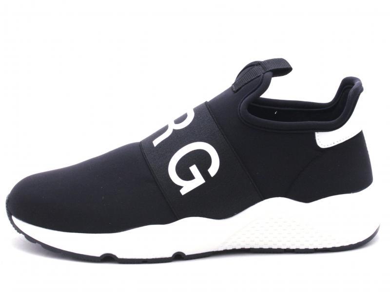 PACS28 001 NERO Scarpa uomo PRG MAN sneaker slip-on