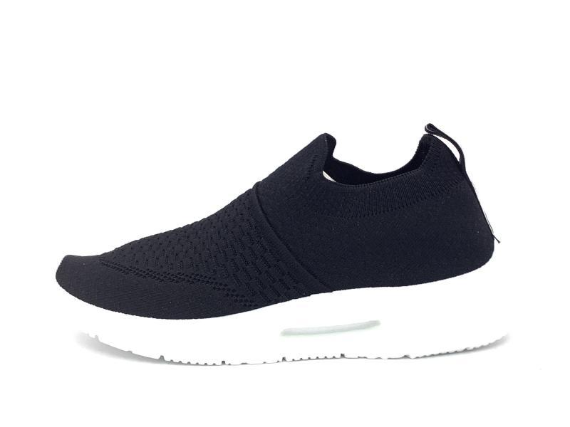 49098 NEGRO Scarpa donna Xti sneaker calza elastica flex plantare memory