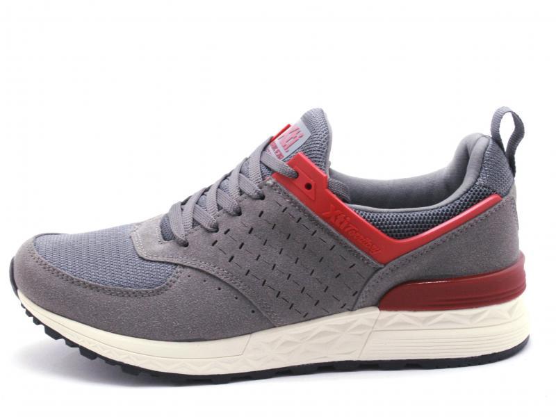 49217 GRIS Scarpa uomo Xti sneaker running grigio extra light