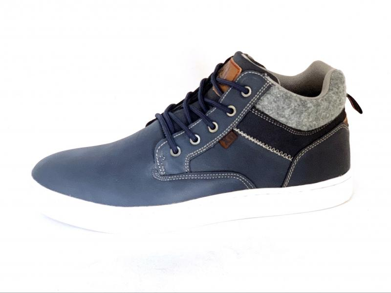 04419102 NAVY Scarpe uomo Xti polacchino blu the red touch