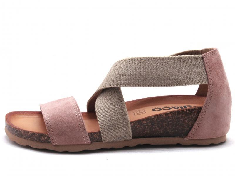 5198122 CIPRIA Scarpa donna Igi&Co sandalo fusbet anatomico pelle made in Italy