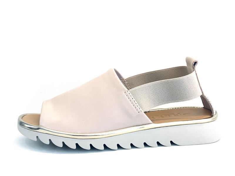 XB222.18M BEIGE Scarpa donna The Flexx sandalo pelle rosa plantare memory