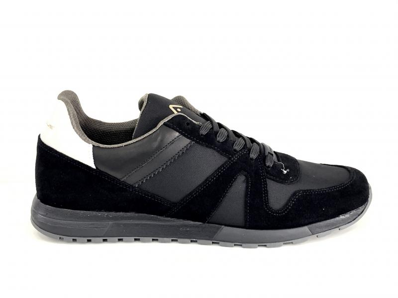 7144AAM JANKO Scarpa uomo Ambitious sneaker running nero pelle tessuto