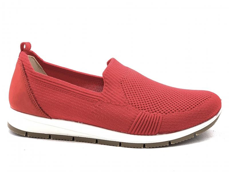 5275833 ROSSO Scarpa donna Enval Soft sneaker slip-on made in Italy