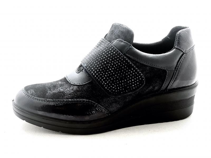 6278122 BLU Scarpa donna Enval soft sneakers strappo