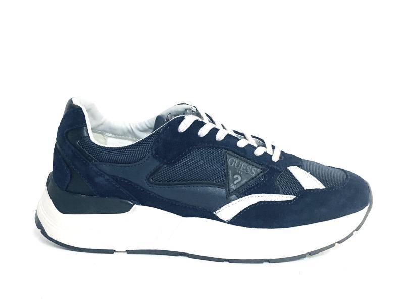 FMIMO8 BLUE Scarpa uomo Guess sneaker running blu