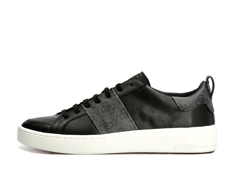 FM7VRL BLACK Scarpa uomo Guess sneaker pelle Verona  nero