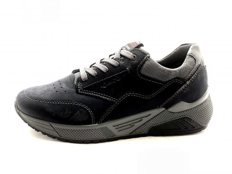6142700 NOTTE Scarpa uomo Igi&Co sneaker pelle made in Italy plantare memory