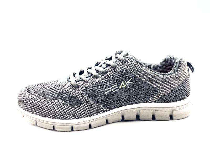 COSMO GREY Scarpa uomo sneaker PE4K running grigio plantare memory extra light