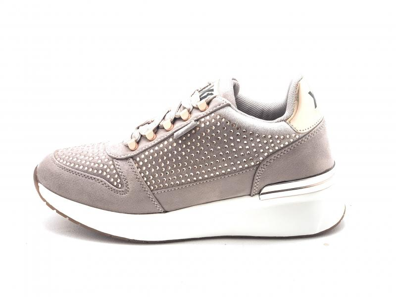 04436502 NUDE Scarpa donna Xti sneaker the red touch nudo